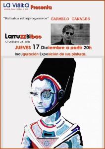 CARMELO LOPEZ Expone en Larruzz