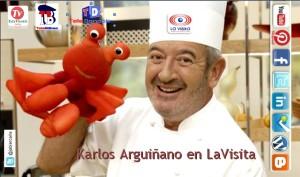 KARLOS ARGUIÑANO en LaVisita con Jabier Calle
